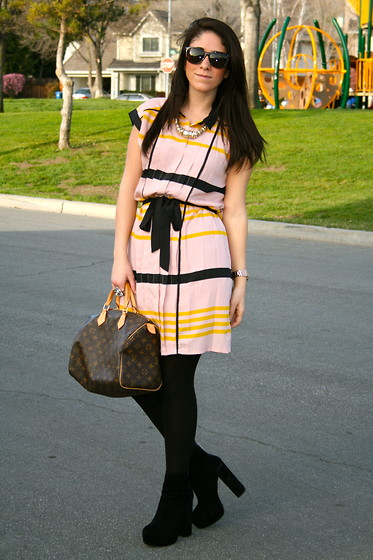 Courtney Dennis - Target Dress - Blush and Yellow