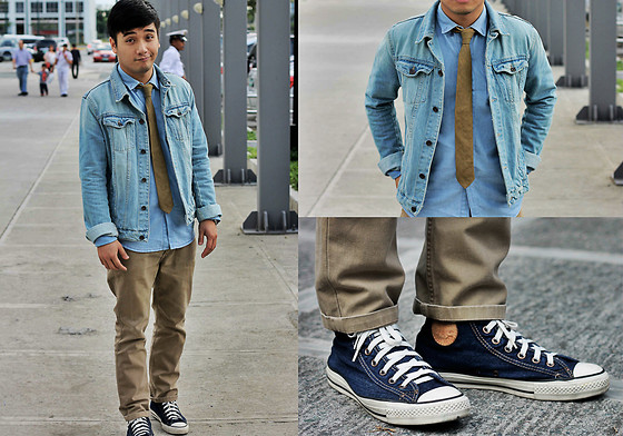 Denim Jeans, Converse Denim Chuck