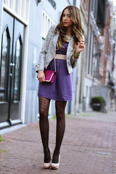 Virgit Canaz - Sugarlips Purple Dress - Romantic Date