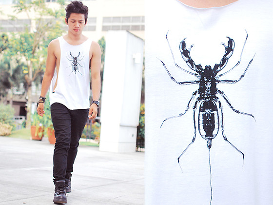 David Guison - Du Manille Tank Top - Insect Eyes