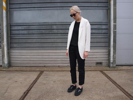 Topshop Sunglasses, Superga Platform