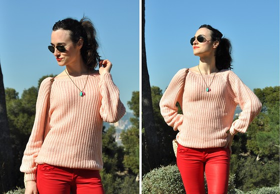 EmerJa Design - Sheinside Jumper - Strawberry