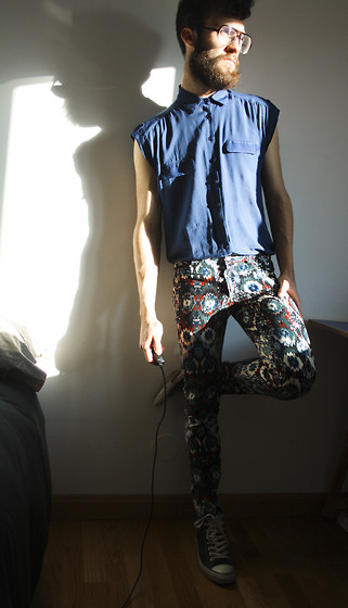 Javier Sendin - Zara Pants - We boys can wear it-girls' pants.