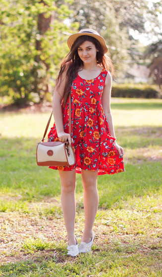 Carly Maddox - Thrifted Dress - Summertime (GIVEAWAY UP ON MY BLOG!)