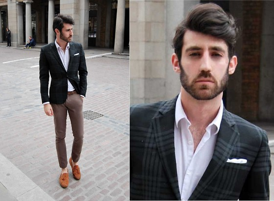 Adrian Cano - Blazer, Trousers - Walking On Thin Ice