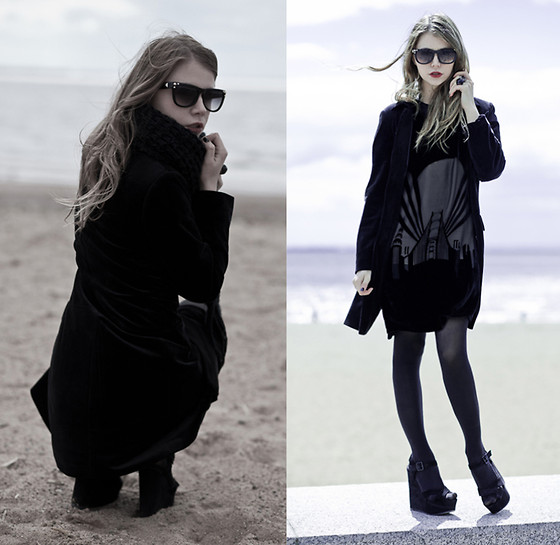 Anna Vershinina - Topshop Dress - Windy Weather By The Sea
