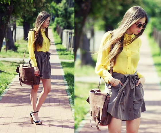 Kasia Szymków - Shirt, Skirt, Shoes, Sunglasses - CITRUS