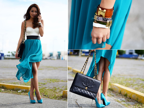 Laureen Uy - Style Staple Dress, Chanel Bag, Call It Spring Shoes - Wind Blown (BMS)