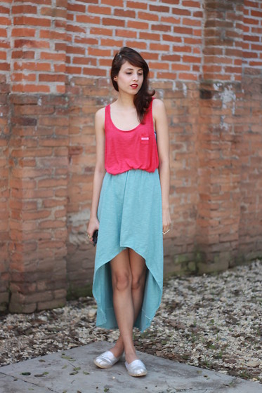 Glena Martins - Mullet Skirt, Perky Shoes Alpargatas - Fresh day