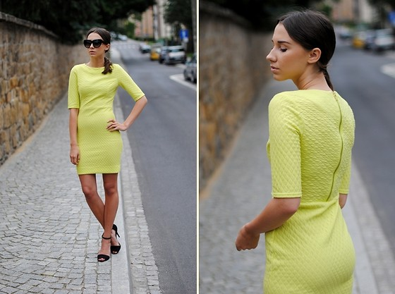 Patrycja R - Asos Dress - LIME SPORTY DRESS