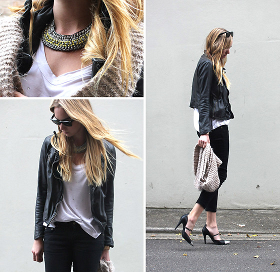 Stephanie Kramer - Saba Chain, Muubaa Leather Jacket, Nowhere Sharp Shoe, Seed. Tee - Swing Dance