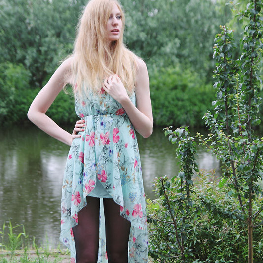 Zuzi * - Asymmetrical Dress - Fairy dress