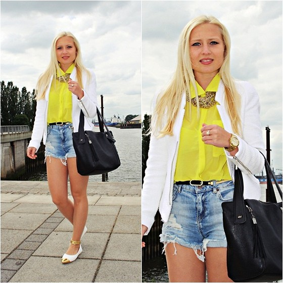 Justyna B. - Zara Blazer, Ny Shirt, Shoes, Bag - 13.06