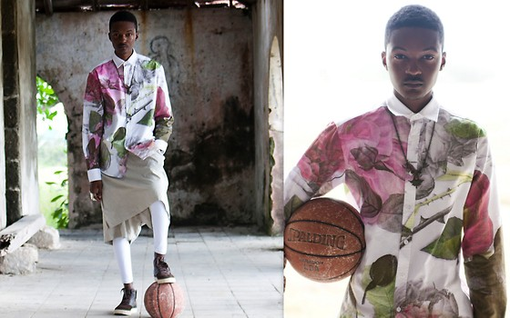 Junior S - Soulland Floral Shirt, Damir Doma Skort - L A B & iD - The Game Changer!