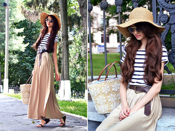 Tina Sizonova - Bershka Skirt, Zara Top - Look of the day: Mix of trends