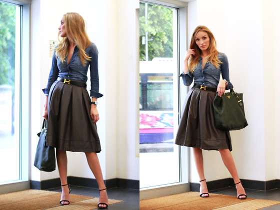 Besugarandspice FV - Zara Blouse, Zara Bag, Zara Sandals