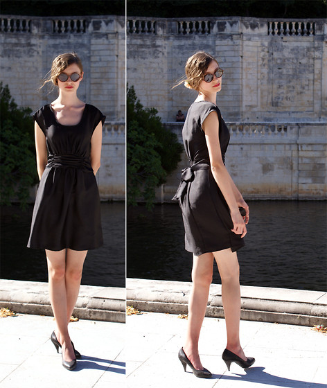 Maria Joanna - H&M Dress, H&M Shoes - Sur le pont de ...