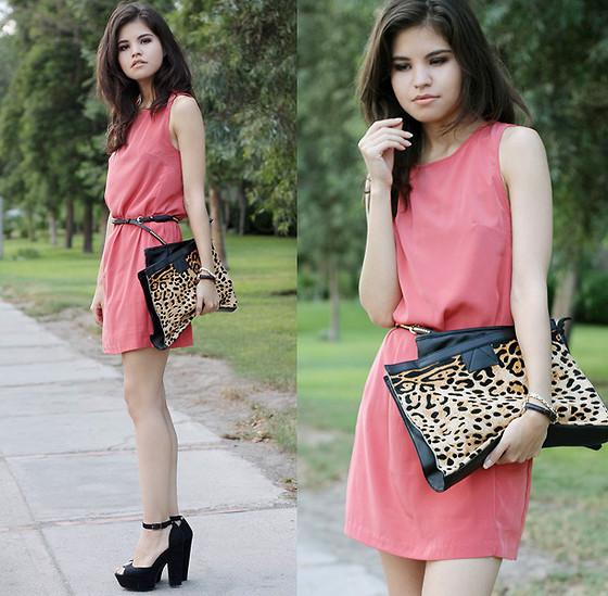 ASOS cape back high low hem midi dress   Rose colored