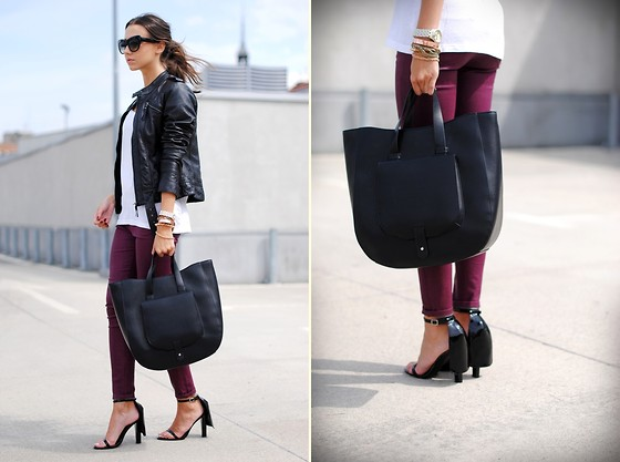 Patrycja R -  - BURGUNDY AND LEATHER