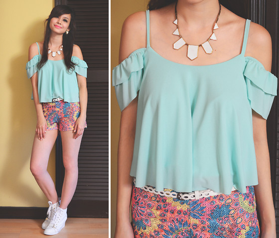 Bea Benedicto - Alter/Ego Sweet Mint Top - Sweet Mints