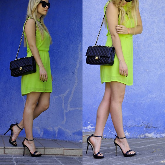 Cassandra De La Vega - Zara Dress, Zara Shoes, Chanel Bag, Céline Sunglasses - Lima Limon