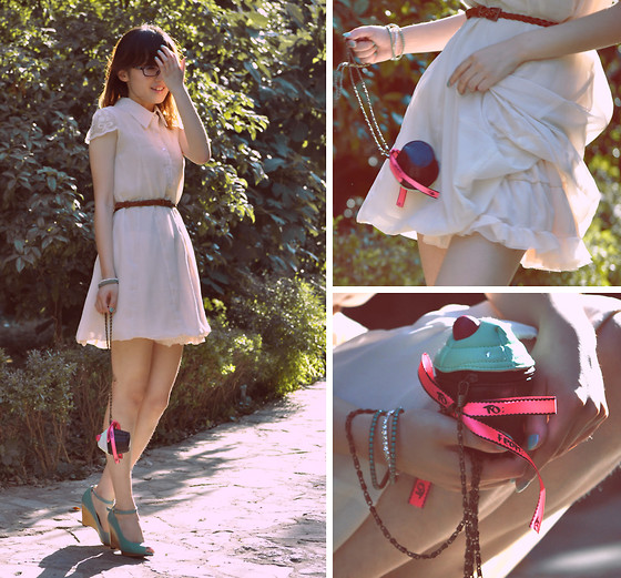 Anne King - Harajuku Dress, H&M Cupcake Bag, Randa Shoes - The reason why I smile