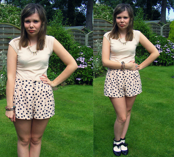 Abbie P - American Apparel Top, H&M Shorts, New Look Necklace, Topshop Socks - 'DOLL'