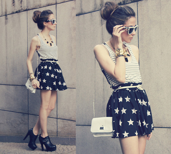 Flávia Desgranges van der Linden - Romwe Skirt, Choies Sunglasses - The soulsavers