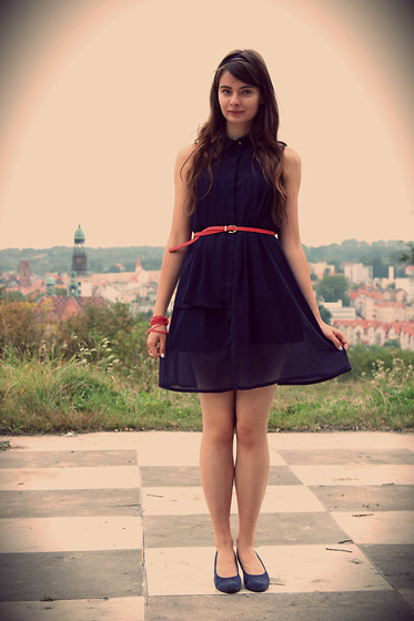 Adrianna La - Ccc Shoes, Sheinside Dress - My city