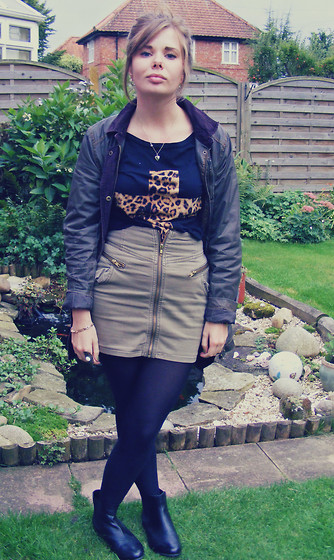 Abbie P - Urban Outfitters Top - Barbour Jacket