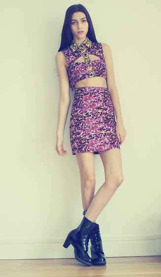 Sophie Bailey - Fairground Freakum Dress, Dr. Martens Dr.Martens - We Love Fairground