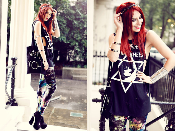 Masha Sedgwick - Bag, Shirt, Headpiece, Jewelry - WE ARE THE WASTED YOUTH.