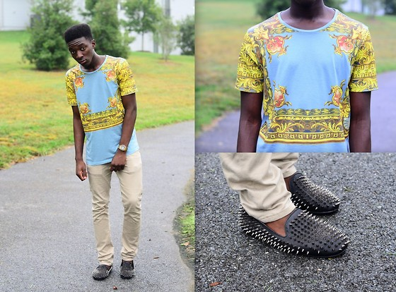 Malik Mbaye - Levi's® Khaki Chinos - Fashion Is My Culture.