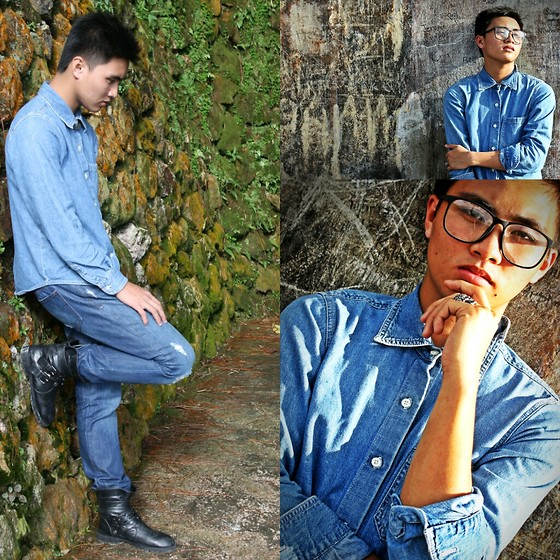 Kojin Domingo - Denim Top - Dare Me To Denim