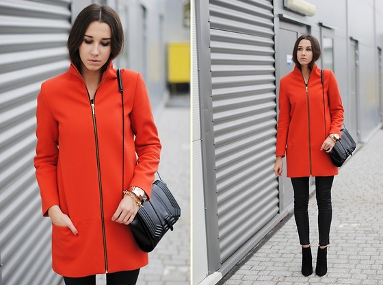 Patrycja R -  - AN ODE TO ORANGE COAT