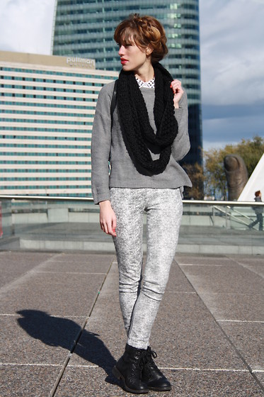 LowCostSirene Sirene - Zara Pull - Cold & Greay Paris
