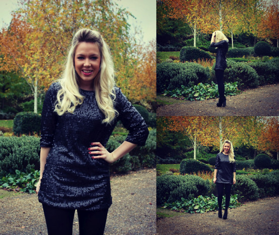 MEDIAMARMALADE ; BRITISH BLOGGER - Krisp Clothing Sequin Dress - Tiz The Season - mediamarmalade