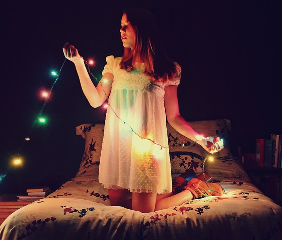 Laura A-B - Sheinside Dress, Jeffrey Campbell Shoes - Pretty Lights