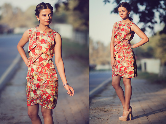 Ekta Sheoran - Esley Tiered & Layered Dress, Forever 21 Mary Jane Pumps - My Fishy affair with the Tiered & layered dress!