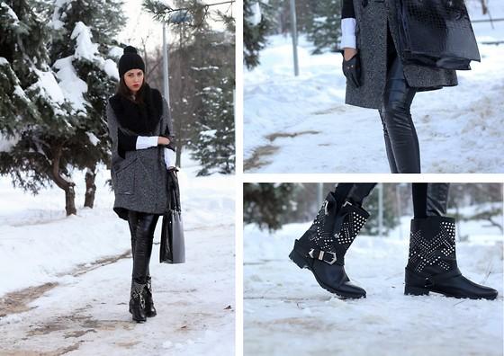 Besugarandspice FV - Mango Coat, Furla Bag, Zara Pants