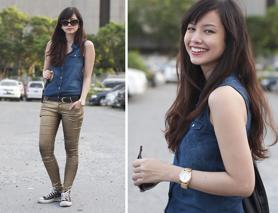 Bea Benedicto - Tommy Hilfiger Gold Watch - Bloggers United 4: Day 1