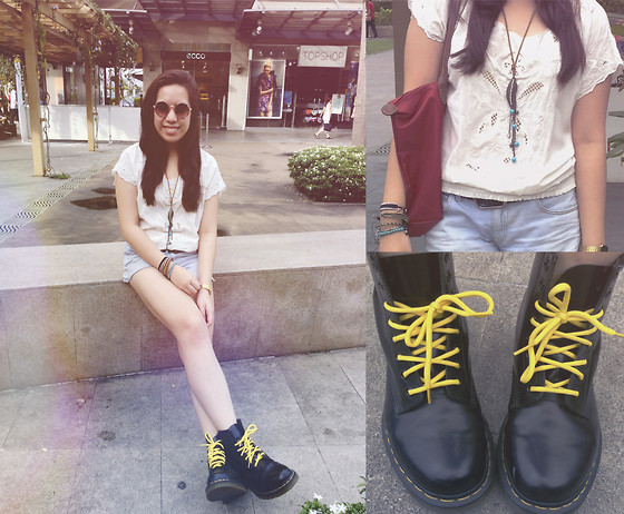 Bea Marquez - Forever 21 Top, H&M Shorts, Dr. Martens Boots - Locked Out Of Heaven