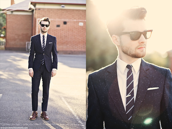 Ben Galbraith - Asos Suit, Jack London Tie - Summer