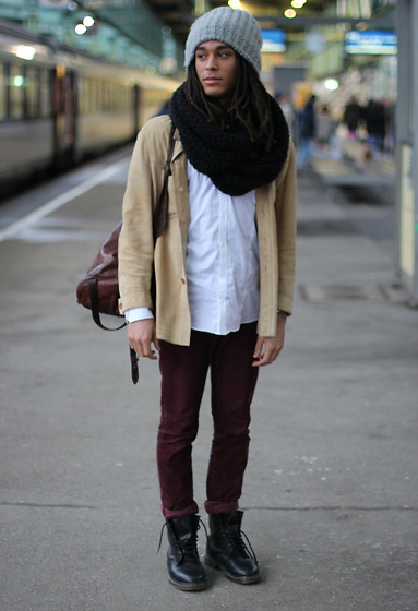 Philip Antony - Vintage Jacket, H&M Trousers, Dr. Martens Shoes - You'll learn to hate me, but still call me baby