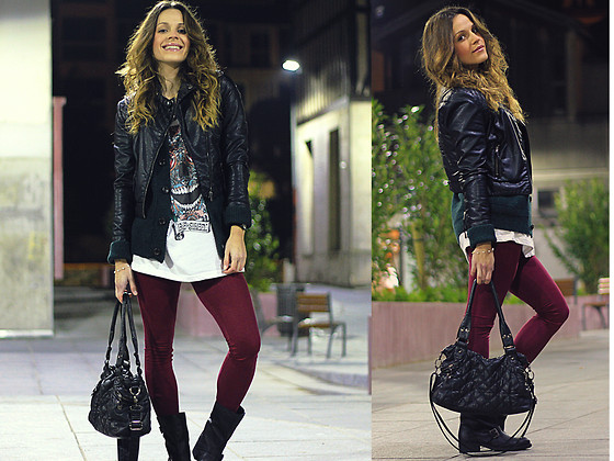 Alves Elodie - H&M Vests, San Marina Bag, Be Street Top - Night