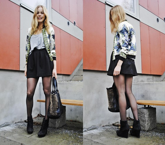 Frida Johnson - Skirt, Shirt, Bag - FRIDAFYNDIGT AT INSTAGRAM (: