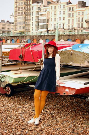 Kerry Lockwood - H&M Red Cardigan, Beyond Retro Vintage