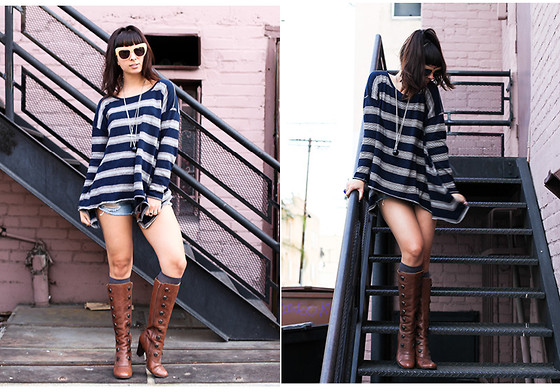 Chanelle L.™ - Saint Grace Fino Momo, Skechers Boots, House Of Harlow Chelsea - Saint Grace