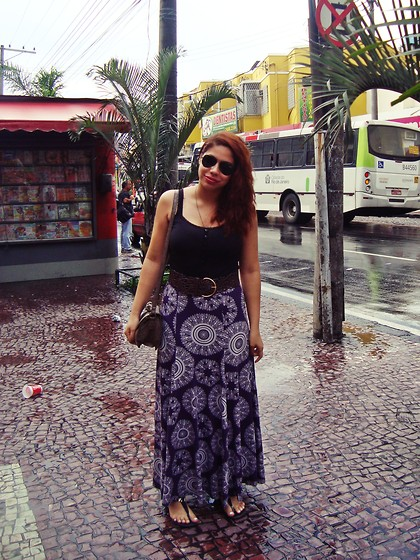 Liah Alves - Ray Ban Aviator, Riachuelo Croco Bag - This is the dawning of the age of Aquarius