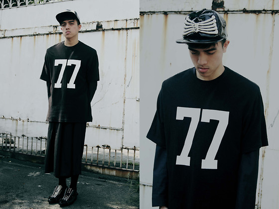 Paul Jatayna - Os Seacage Cap, Paradigm Shift Jersey Shirt, Unisex By Jp Singson Trousers, Depression Transformer Shoes - KINGPINNING